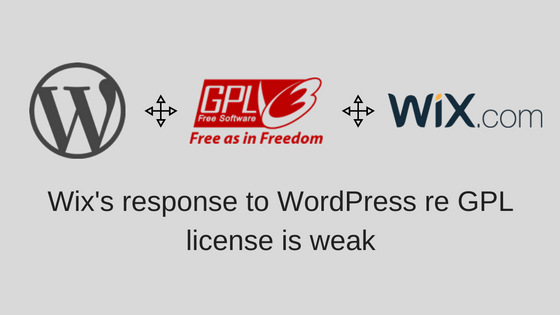Wix WordPress GPL issue