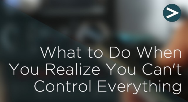what you can do to control
