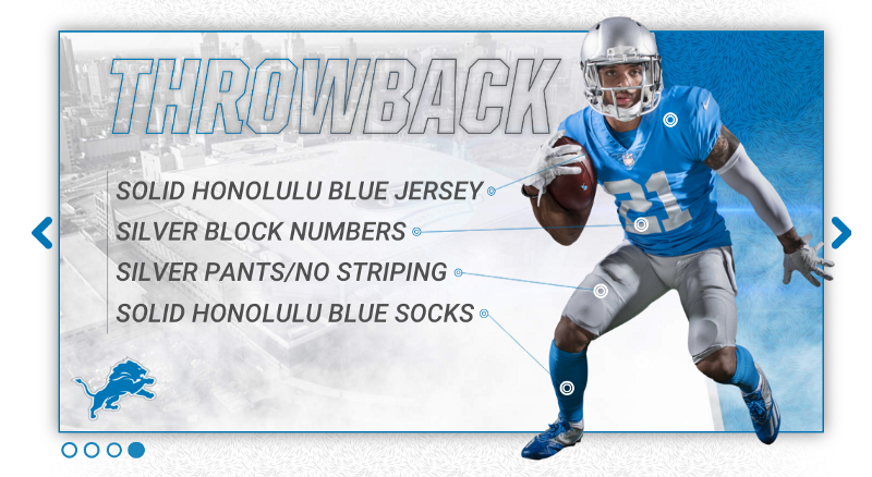 detroit lions 2017 new uniform throwback