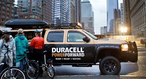 Purpose Marketing duracell power forward