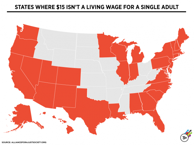 livable wage by state