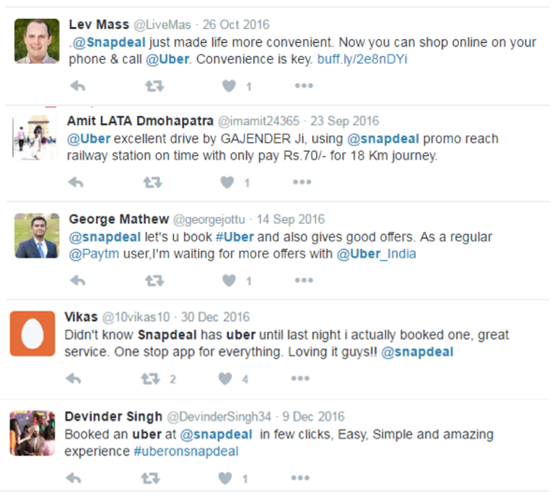 Snapdeal and Uber Make Getting Around in India a Snap | Uber