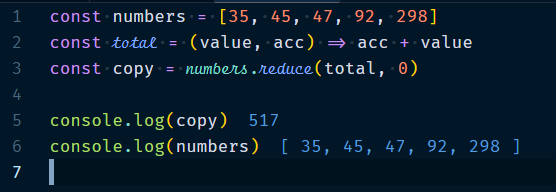 Array.reduce Method
