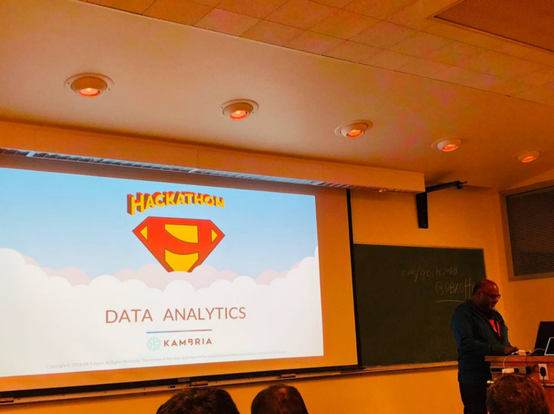 data analytics presentation with IDEAS