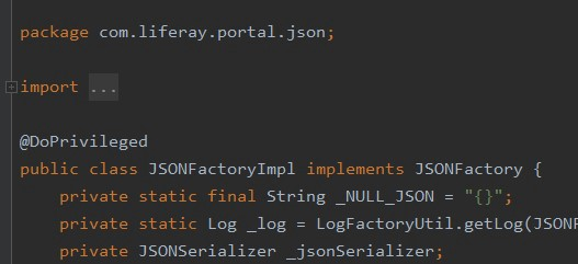 Liferay deserialization (JSON Deserialization) [part 4] (CVE-2019-16891)