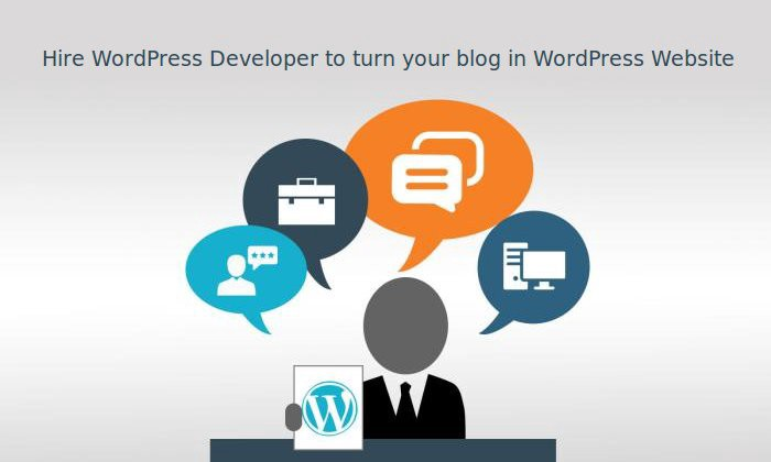 Hire Wordpress Developer To Turn Your Blog Into WordPress Website - cover