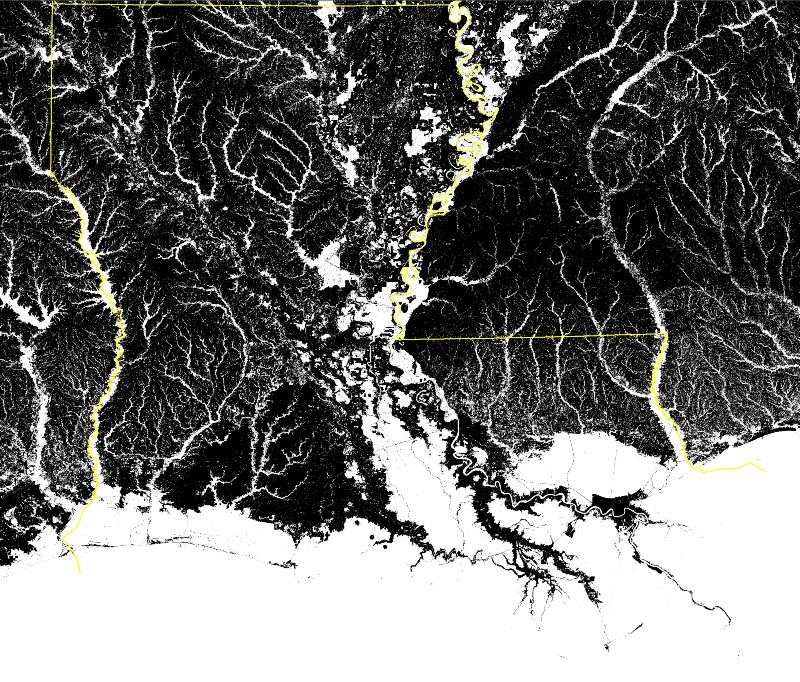 Every Map Of Louisiana Is A Lie  What It Really Looks Like Should