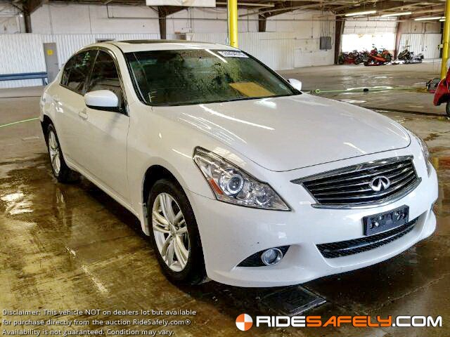 Buy Used Infiniti Cars From Online Car Auction Ridesafely Com