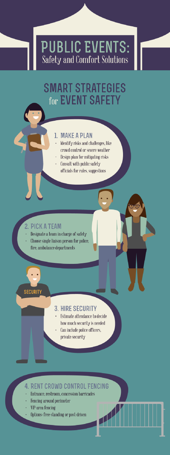 Tips for event security