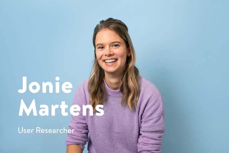 Say Hello to Jonie Martens, User Researcher