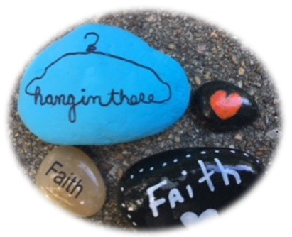Rock painting to inspire others