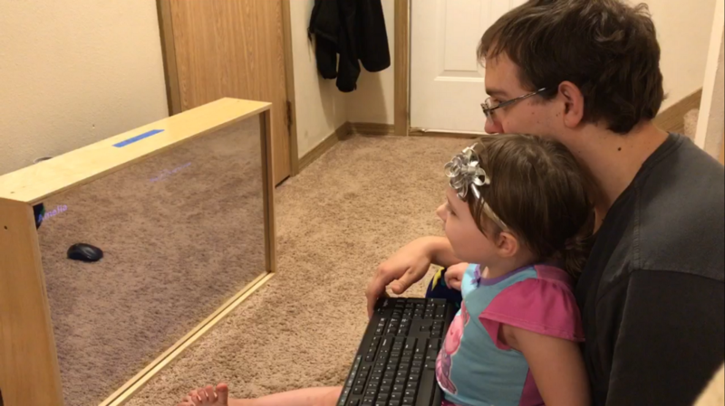 How I built a Smart Mirror, with a little help from my daughter and her grandpa