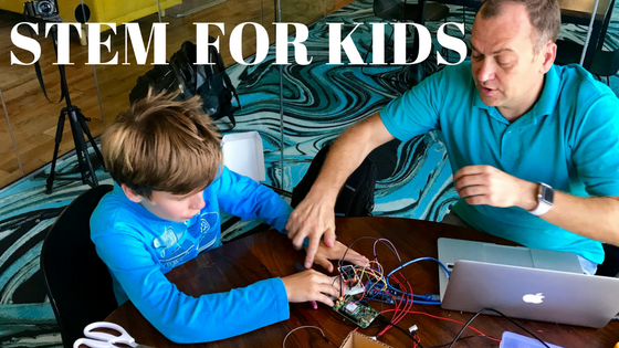 How To Make Your Kids Interested in STEM and Tech?