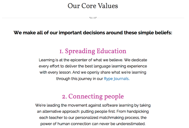 about rype