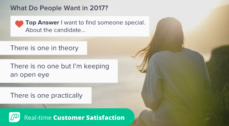 What Do People Want in 2017