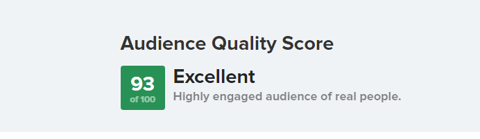 Instagram Audience Quality