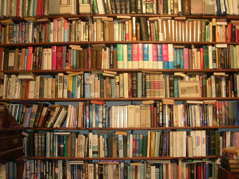 The End Of The Bookshelf