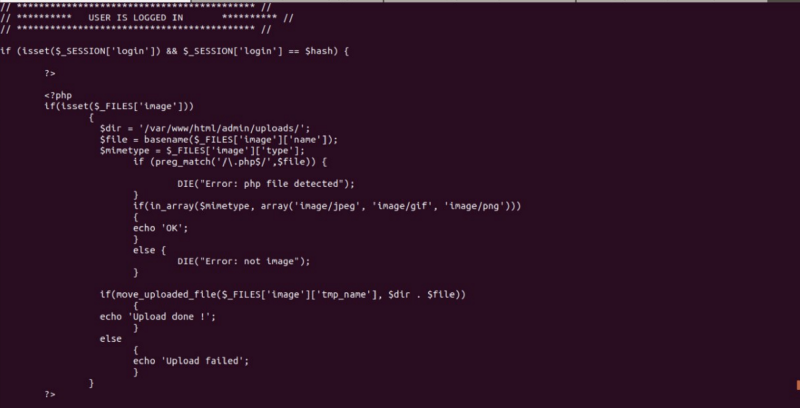 Index.php SourceCode