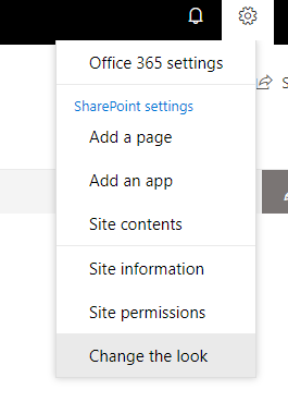 custom SharePoint theme