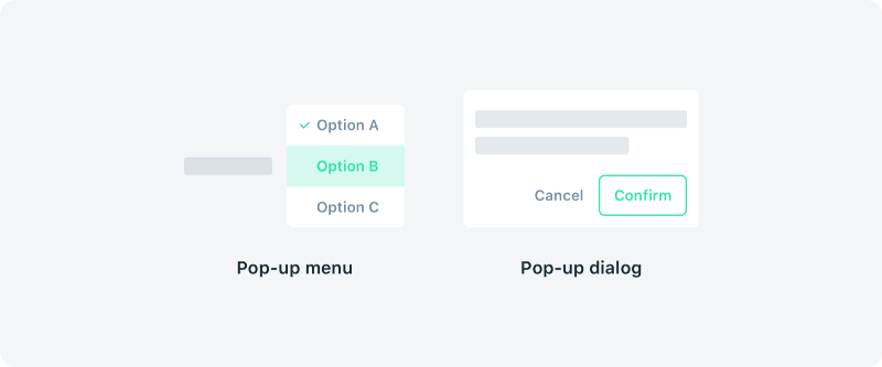1*1b8P8refOnP7_HvO1nvxJA@2x Pop-up, popover or popper?—a quick look into UI terms