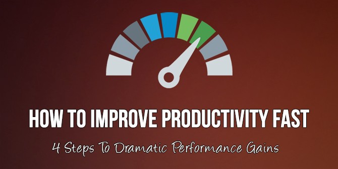 10 steps to improve productivity