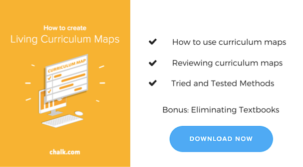 How to create living curriculum maps