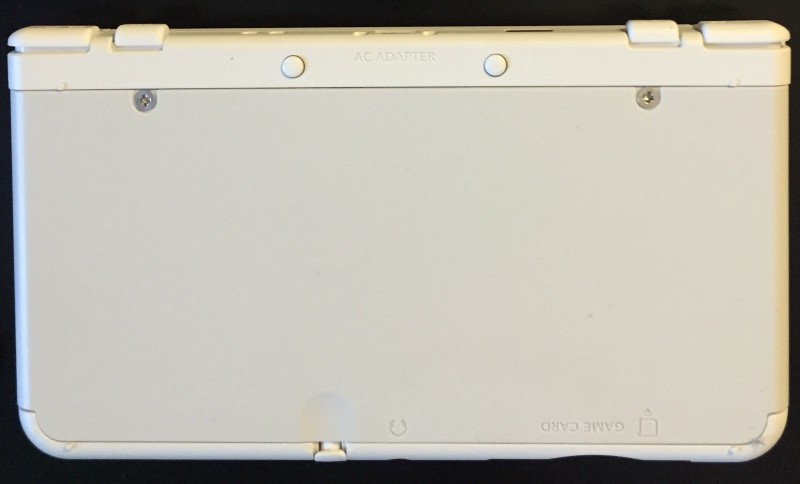 The rear face plate (it ships attached)