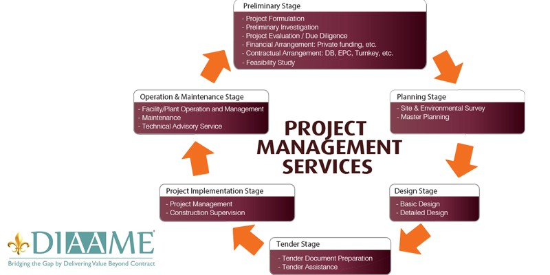 Project Management Consulting Service Diaame Consulting Services