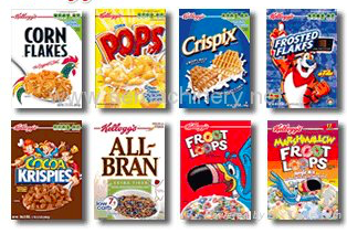 In the future you might be able to press a button on your cereal packet to tell your favourite online shopping store that you want some more. Other brands of cereal are and will continue to be available.