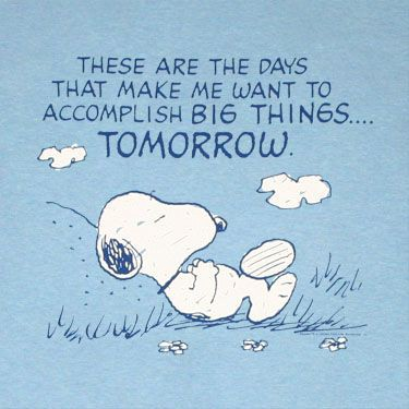 Time to accomplish big things today, to achieve great things tomorrow.