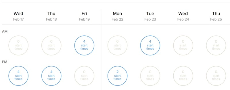 how to add buffer between appointments in calendly