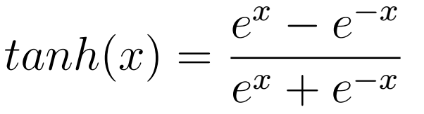 Tanh Equation