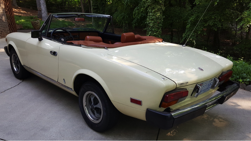 Mosky S Musings Fiat 124 The Polite Sports Car Part 1 Of 2