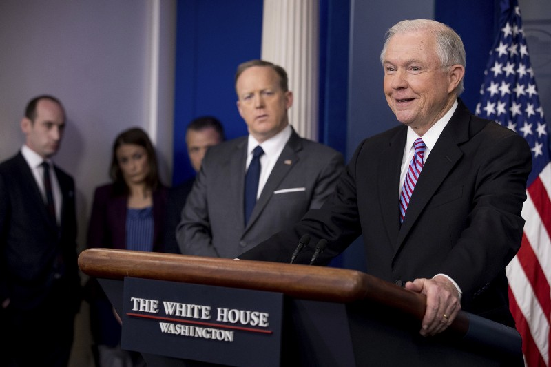 United States  attorney general says sanctuary cities may lose federal grants