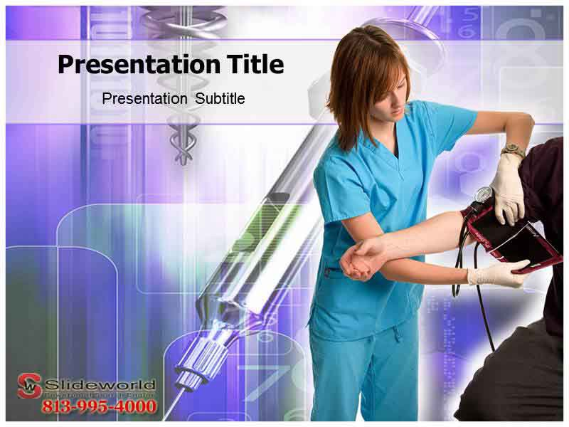 get the best nurse opportunities powerpoint template and themes, Modern powerpoint