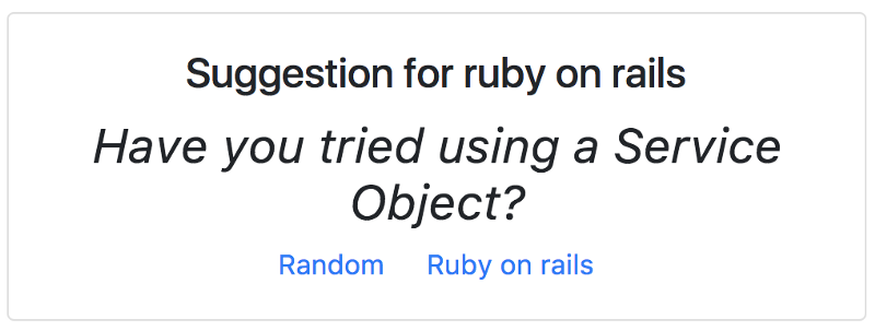 A simple explanation of Service Objects for Ruby on Rails