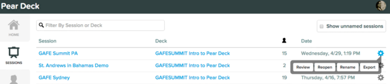 how to use pear deck