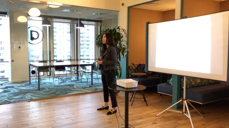 What I Learned Giving My First Talk as a Woman In Tech