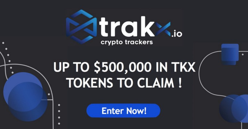 free TKX Tokens in a $500,000 TKX token giveaway!