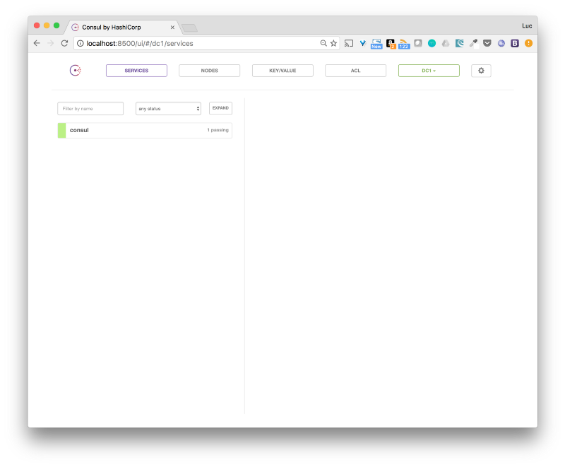 Running docker application in autopilot lucjuggery medium for Mongodb consul