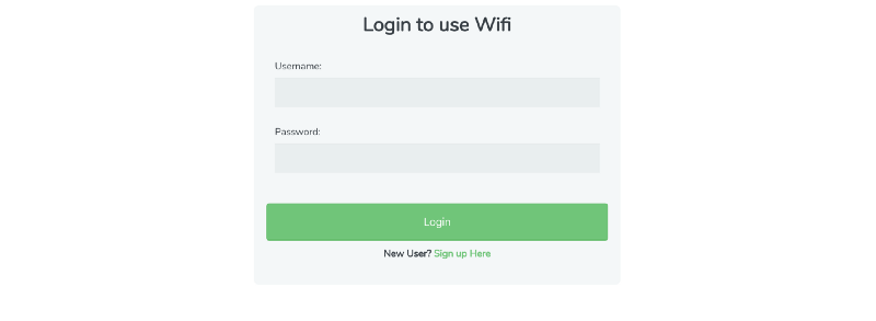 How I created a Python Bot to automatically log into a Captive Portal