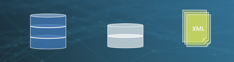 Databases with different schemes, formats and businesslogic