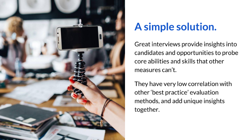 Talytica's Top 7 ways to run great interviews - a research summary