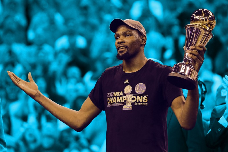 Barack Obama sent Kevin Durant a congratulatory text after the NBA Finals