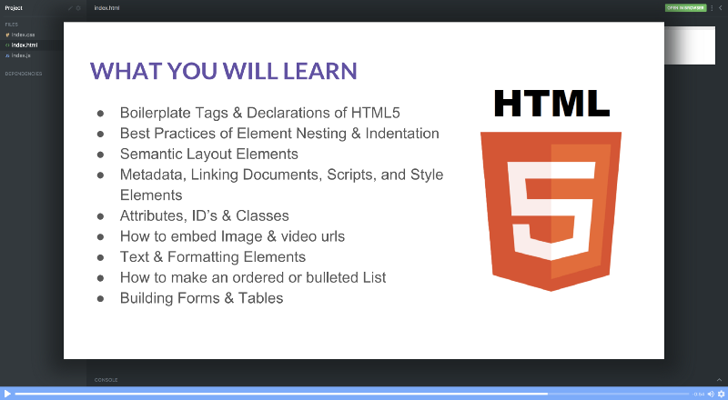 Learn HTML in 5 minutes