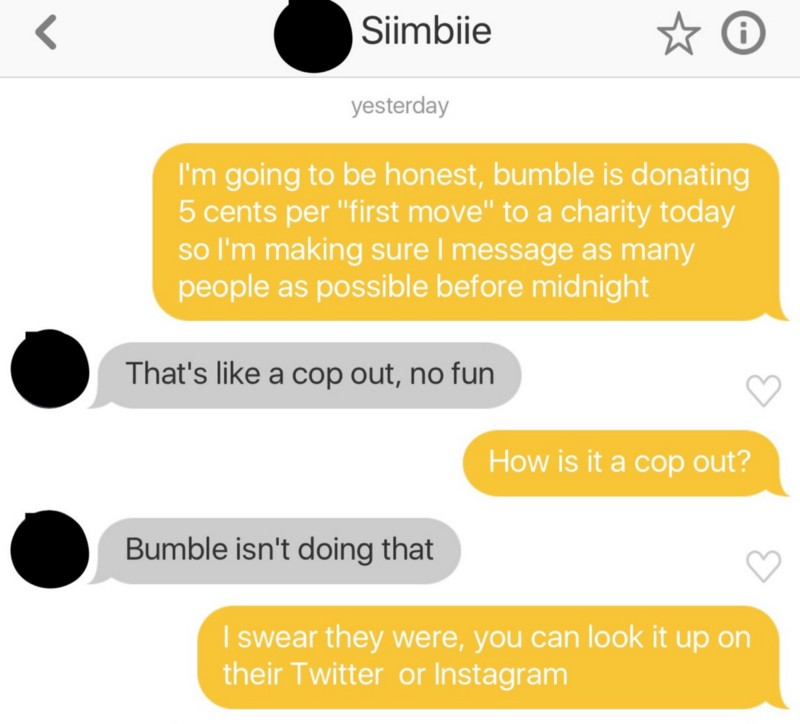 How to message someone on bumble