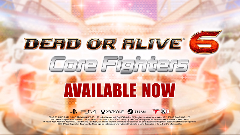 Vyšla Dead or Alive 6: Core Fighters