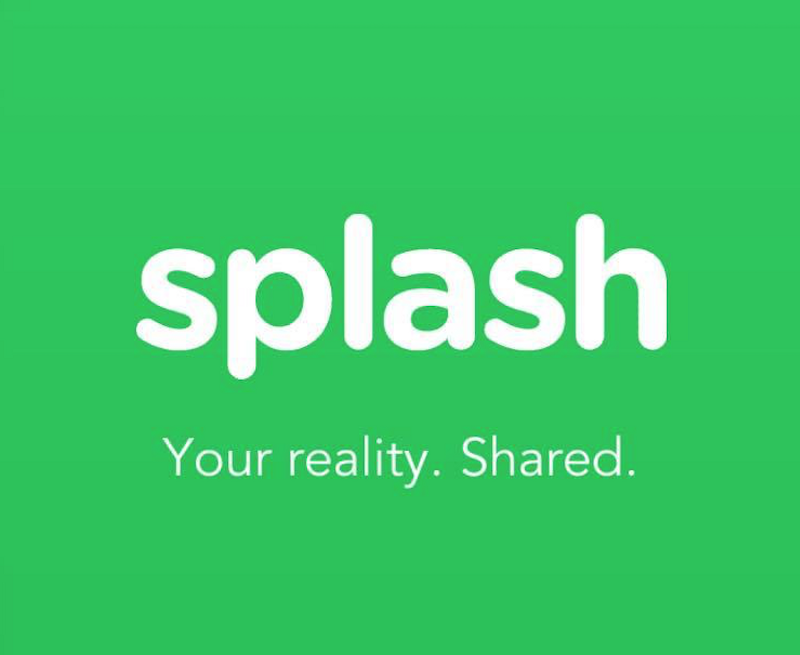 Splash aplikasi perekam video 360 derajat untuk iPhone