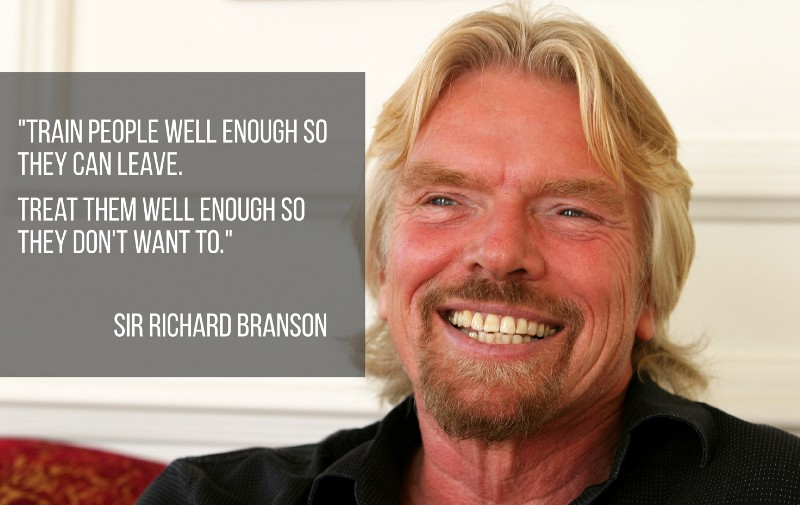 employee benefits quote from richard branson