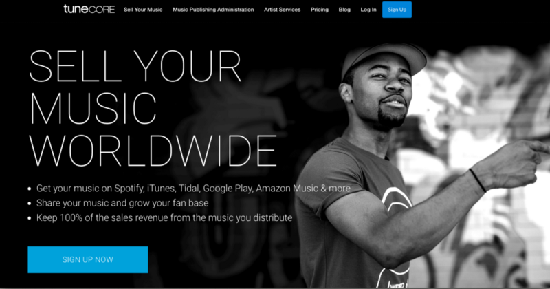 How to publish music online